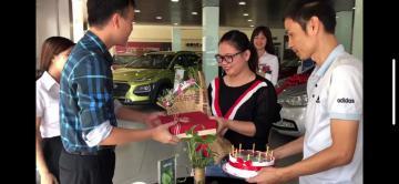 Sinh nhật ấn tượng với Hyundai Phạm Hùng