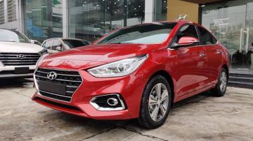 So sánh trang bị các phiên bản Hyundai Accent