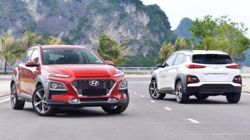 So sánh trang bị 3 phiên bản xe Hyundai Kona
