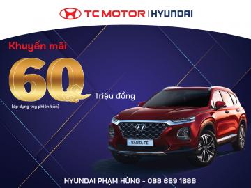 Hyundai Santafe –Ưu đãi duy nhất 04/2021