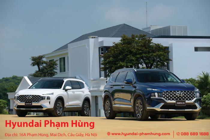 Hyundai New Santafe 2021 - Bứt phá tiên phong